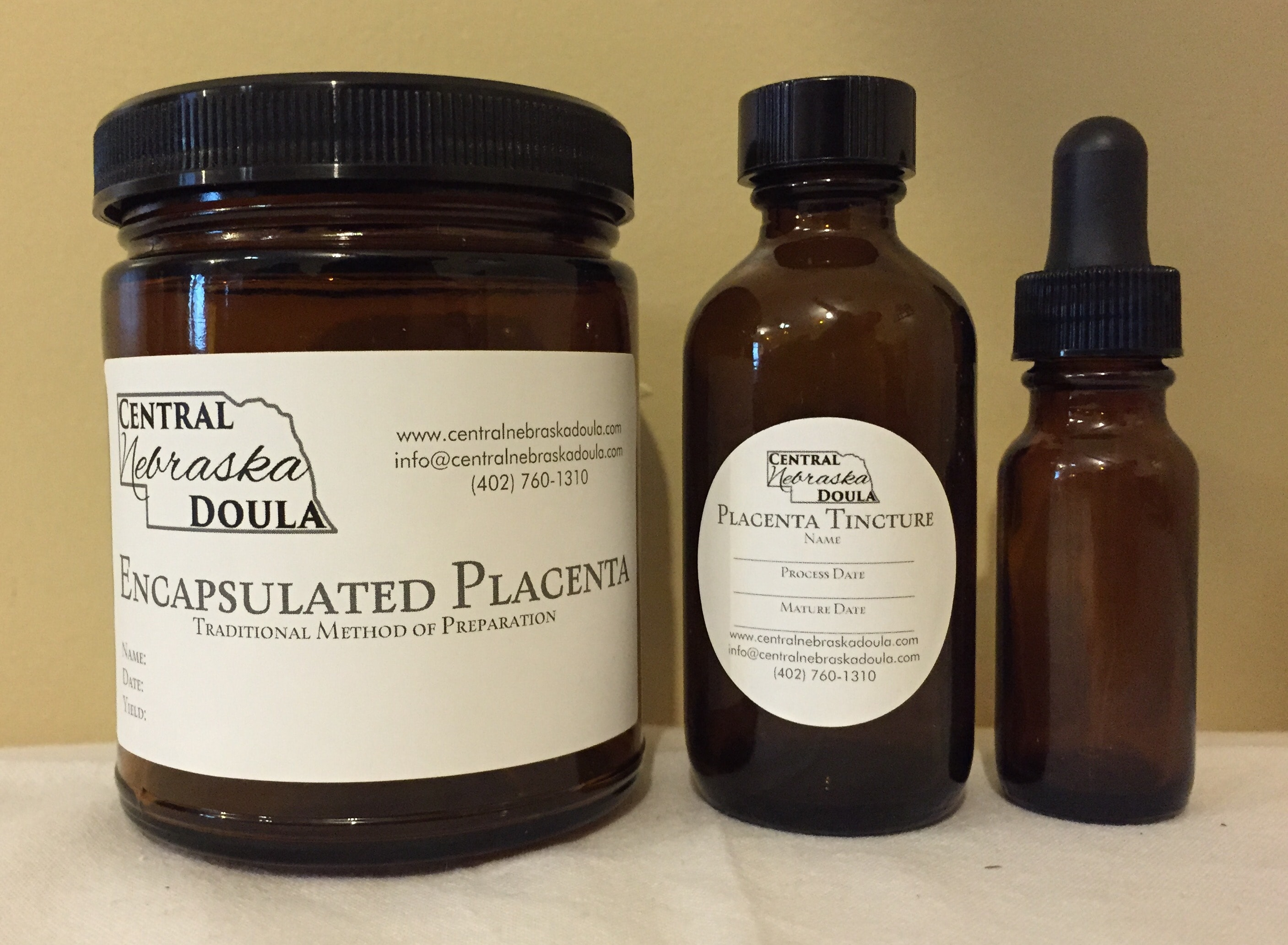 Central Nebraska Doula Placenta Encapsulation